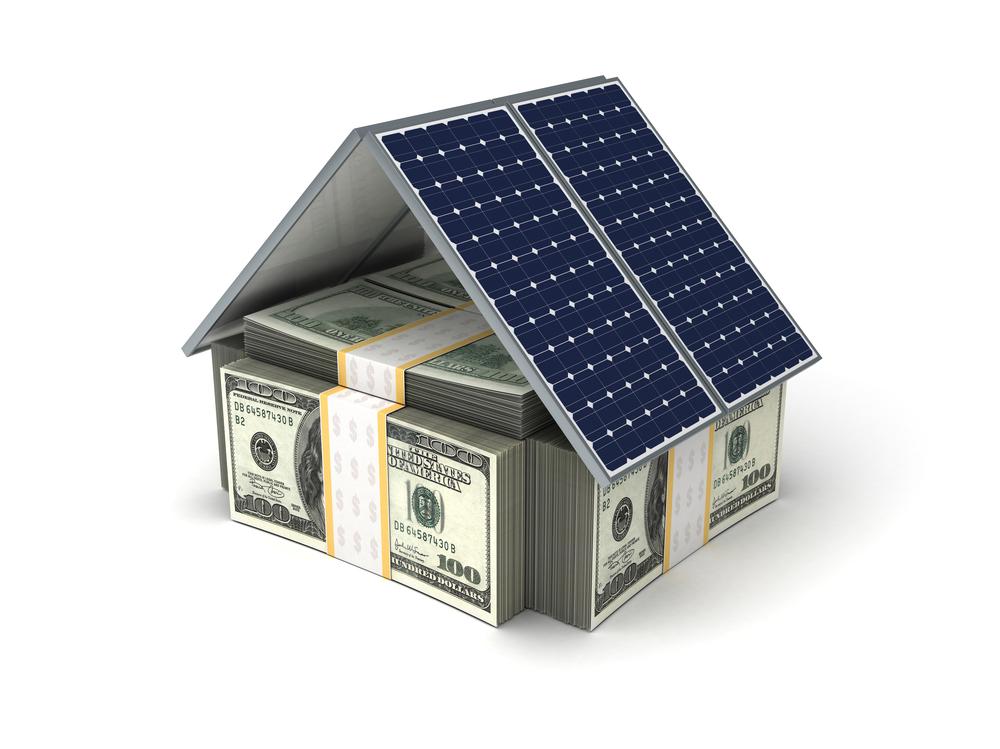 Image of San Francisco solar power concept