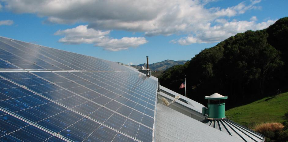 Image of Marin solar panels