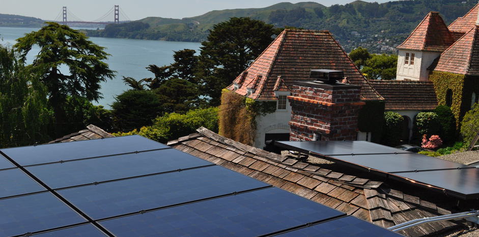 san francisco homes powered by solar energy