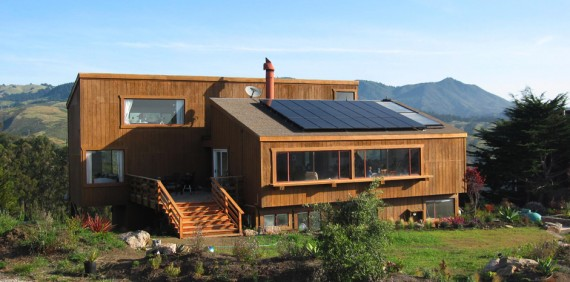 image of bay area home with solar panels